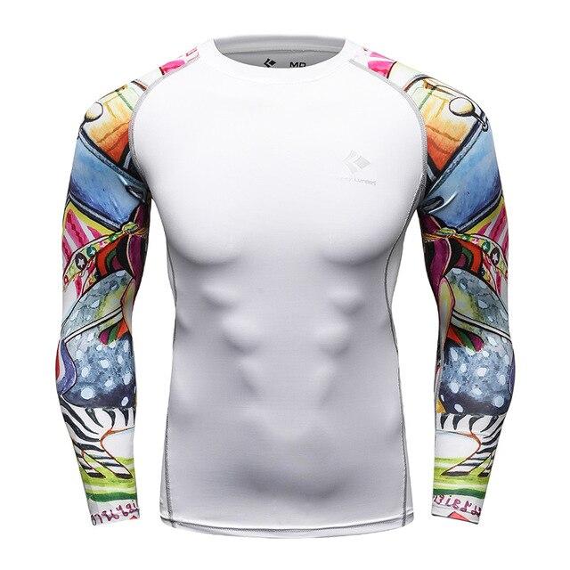 und Langarmshirts f/ür M/änner Cody Lundin M/änner Sport Enge Kurze und Lange /Ärmel Shirts Atmungsaktiv Wicking Laufen Fitness Kurz