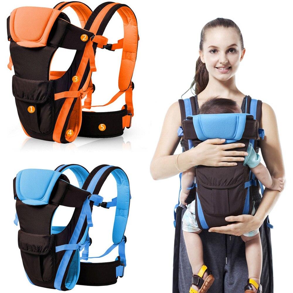 Ergonomic Manduca Baby Carrier Sling Breathable Baby Kangaroo Hip Seat Backpacks Carriers Multifunction Backpack Slings
