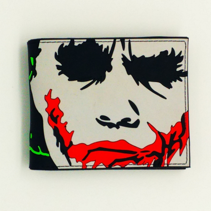 Wholesale zip around Suicide Squad wallet magic joker pocket wallet the walking dead id short purse clutch silm portfel designer suicide squad vol 3 burning down the house rebirth