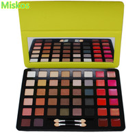 Makeup Palette Eyeshadow Palette Set Eye shadow Lip Face Colour Palettes With Two Brushes Glance Of Beauty Cosmetics Make Up