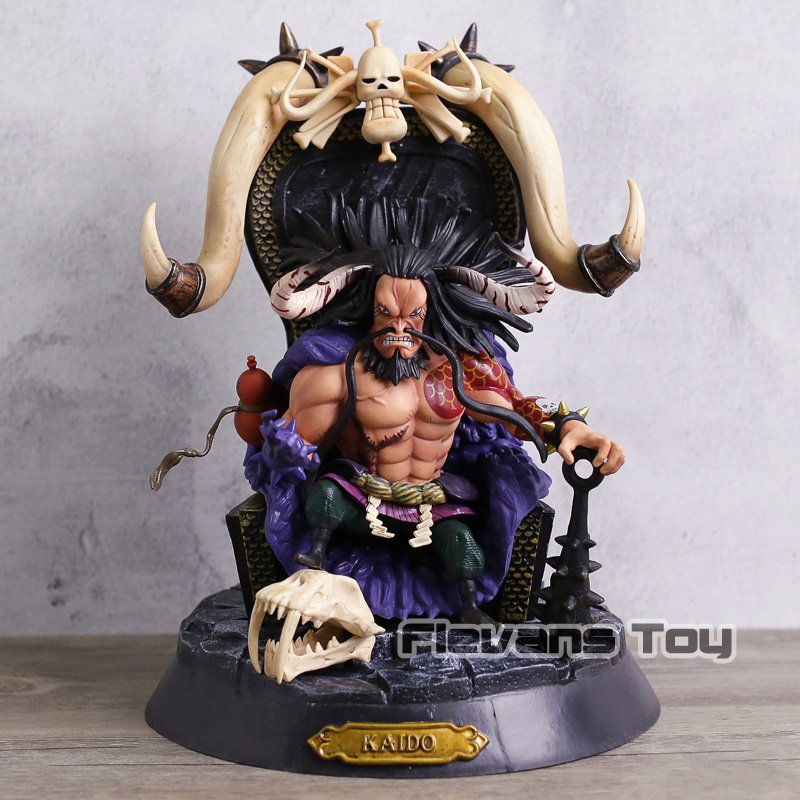 Anime One Piece Action Figure Kaido Statue Model Dolls Decoration Pvc Collection Figurine Toys for Gifts все цены