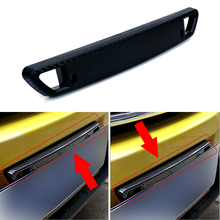 Carbon Bull Bar Front Bumper License Plate Light Mount Bracket Holder Lamp Accessories