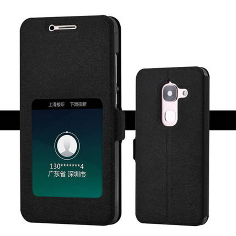 For Letv Leeco Le Max2 X820 X821 X822 phone case smart view window leather back cover For Letv Leeco Le Max 2 flip cover shell