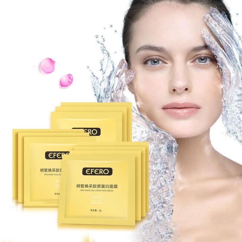 10Pack Hyaluronic Acid Face Cream Anti-Aging Collagen Serum for Face Care Moisturizing Whitening Cream Anti Wrinkle Face Cream