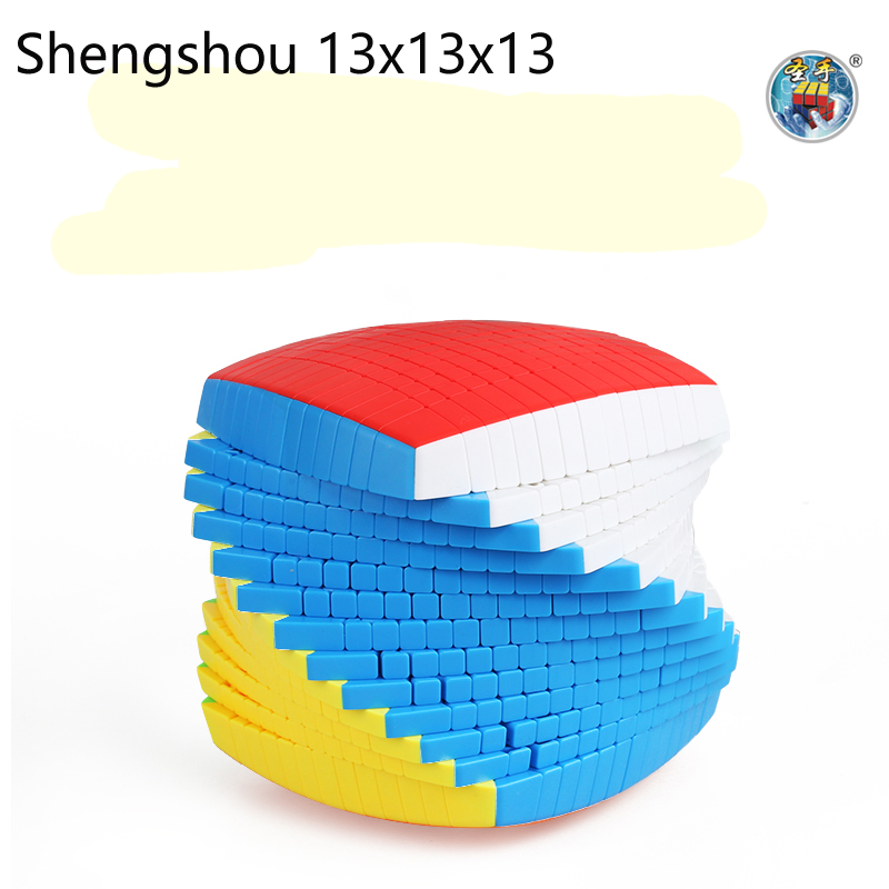 Newest Top Shengshou 13 Layers 13x13x13 Cube Stickerless Speed Magic Puzzle 13x13 Educational Cubo Magico Toys (128mm) Kids Toys