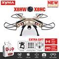 Mais novo X8HW FPV Zangão RC Com Câmera WI-FI 2,4G 6-Axis X8HC HD Camera RC Quadcopter helicóptero com Função Pairando VS X8SW