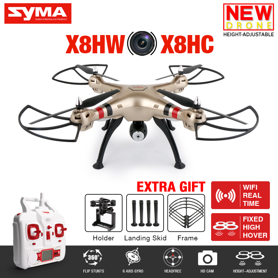 Newest X8HW FPV RC font b Drone b font With WIFI Camera 2 4G 6 Axis
