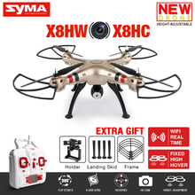 SYMA X8HW FPV RC Drone With WIFI Camera 2,4G 6-Axis X8HC HD Camera RC Quadcopter helicopter with Hovering Function VS X8SW