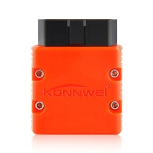 Image 2 - KONNWEI Elm327 V1.5 Bluetooth KW902 OBD2 Elm 327 V 1,5 OBD 2 diagnóstico del automóvil herramienta escáner V1.5 Chip PIC18F25K80 ELM327 en Android