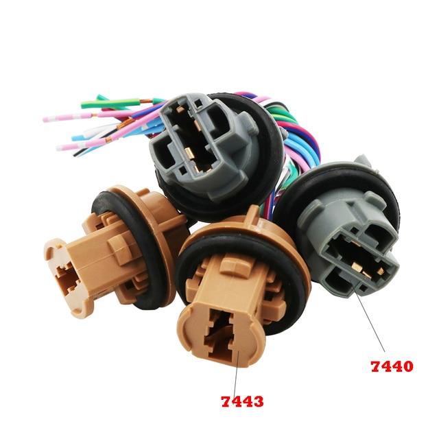 Swell Ysy 2Pcs T20 7440 7443 21 5W Bulb Holder Socket Connector Adapter Wiring Digital Resources Aeocykbiperorg
