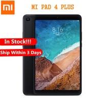 Xiaomi mi Pad 4 плюс 4G фаблет 10,1 дюймов mi UI 9,0 Qualcomm Snapdragon 660 4G B 6 4G B Tablet PC распознавания лиц Камера Wi Fi LTE