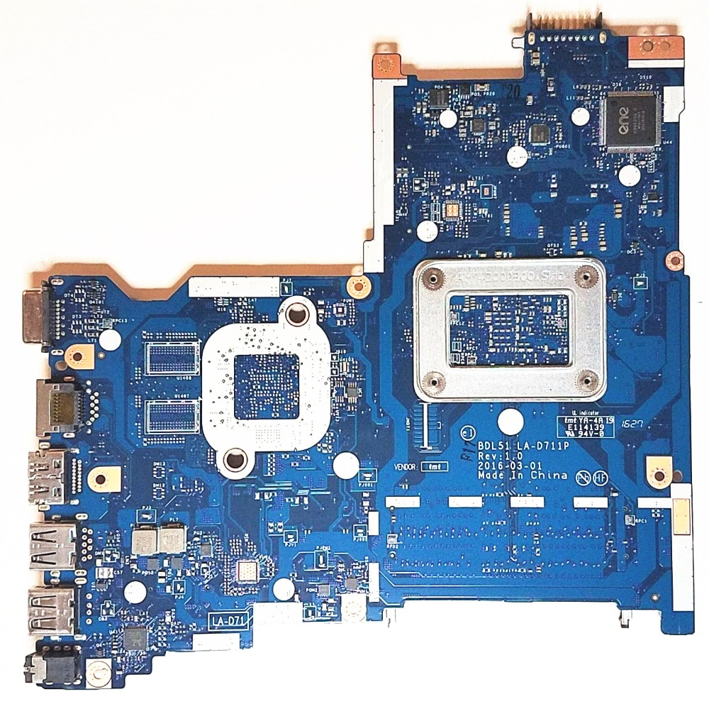 For HP 255 G5 Series Laptop Motherboard With AMD E2 7110 CPU 858589 601 BDL51 LA D711P MainBoard 100% Tested Fast Ship-in Laptop Motherboard from Computer & Office    3
