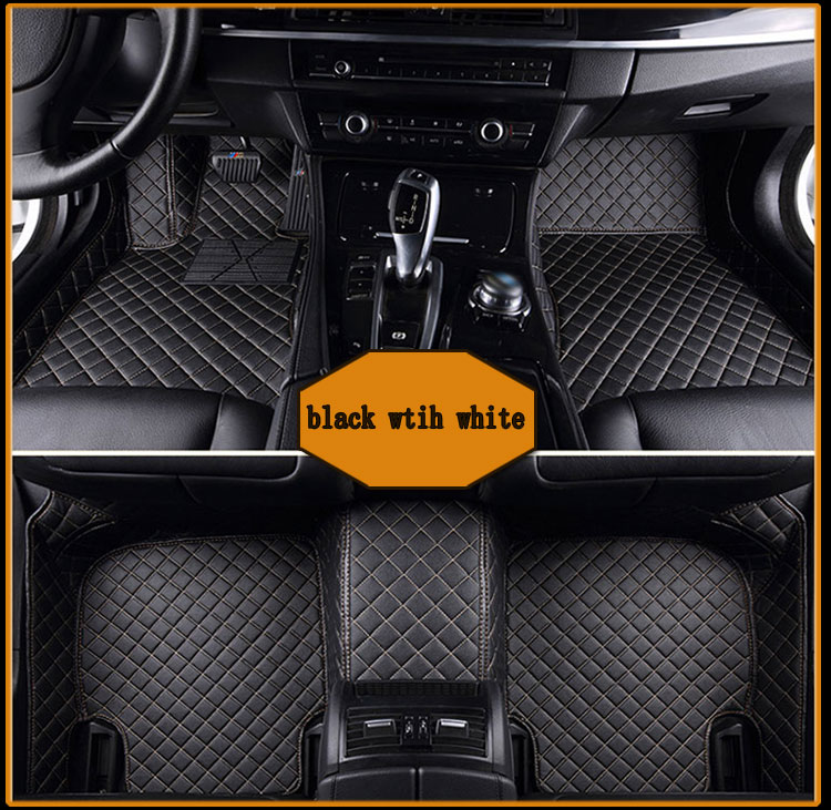 free shipping fiber leather car floor mat rug carpet for land rover discovery sport 2014 2015 2016 2017 free shipping leather car floor mat carpet rug for hyundai ix25 creta only for left steering wheel car