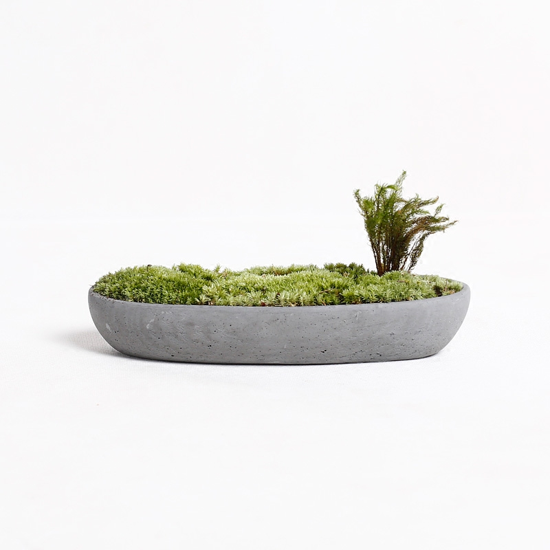 Bateau béton moules pot de fleur plantes Succulentes pot silicone moules BRICOLAGE moules planteurs