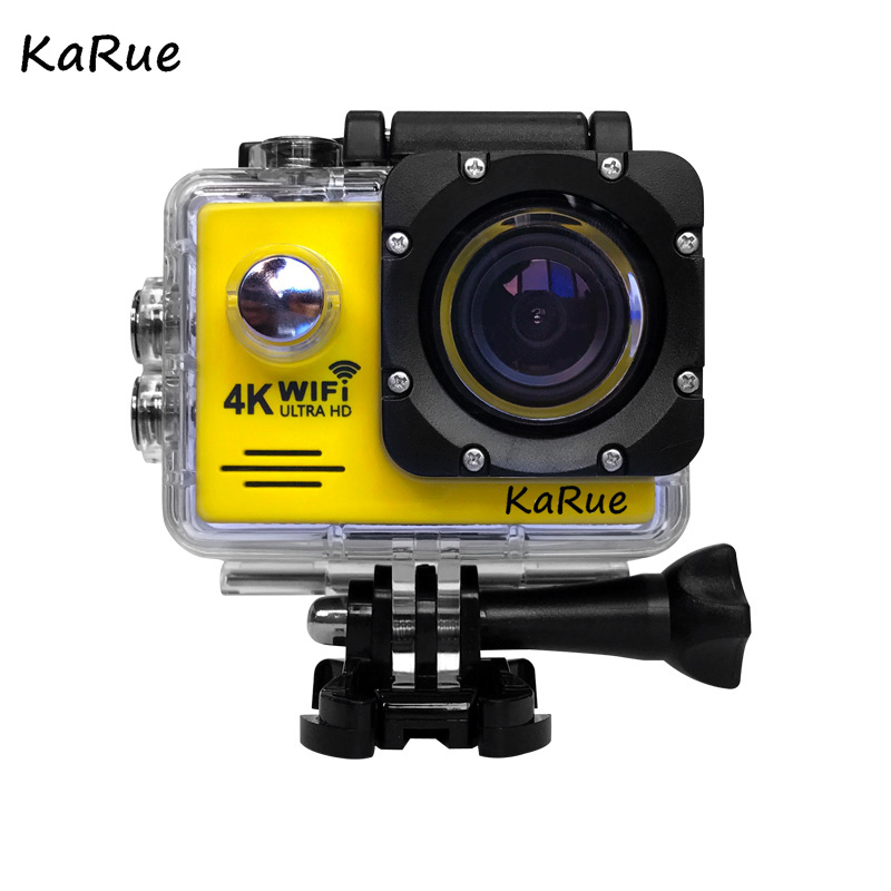 Action Camera 4K Ultra HD WIFI gopro hero 4 Stlye 1080P/30fps 2.0 LCD 170 Lens Diving Waterproof 30M DV Helmet Cam Sports Camera 4k 30fps action camera wifi 1080p uhd 2 0 lcd screen 30m waterproof diving 170 degree sport action camera dv camera