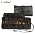 Rosalind Professional 24 Makeup Brush Set tools Make-up Toiletry Kit Brand Make Up Brush Set Case Free Shipping Beauty