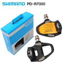 Shimano 105 PD-R7000 Road Bike SPD Pedal Bicycle Self-Locking Pedal Contains SH11 Cleats xlc mtb pedal steelcage pd m01 plastic body
