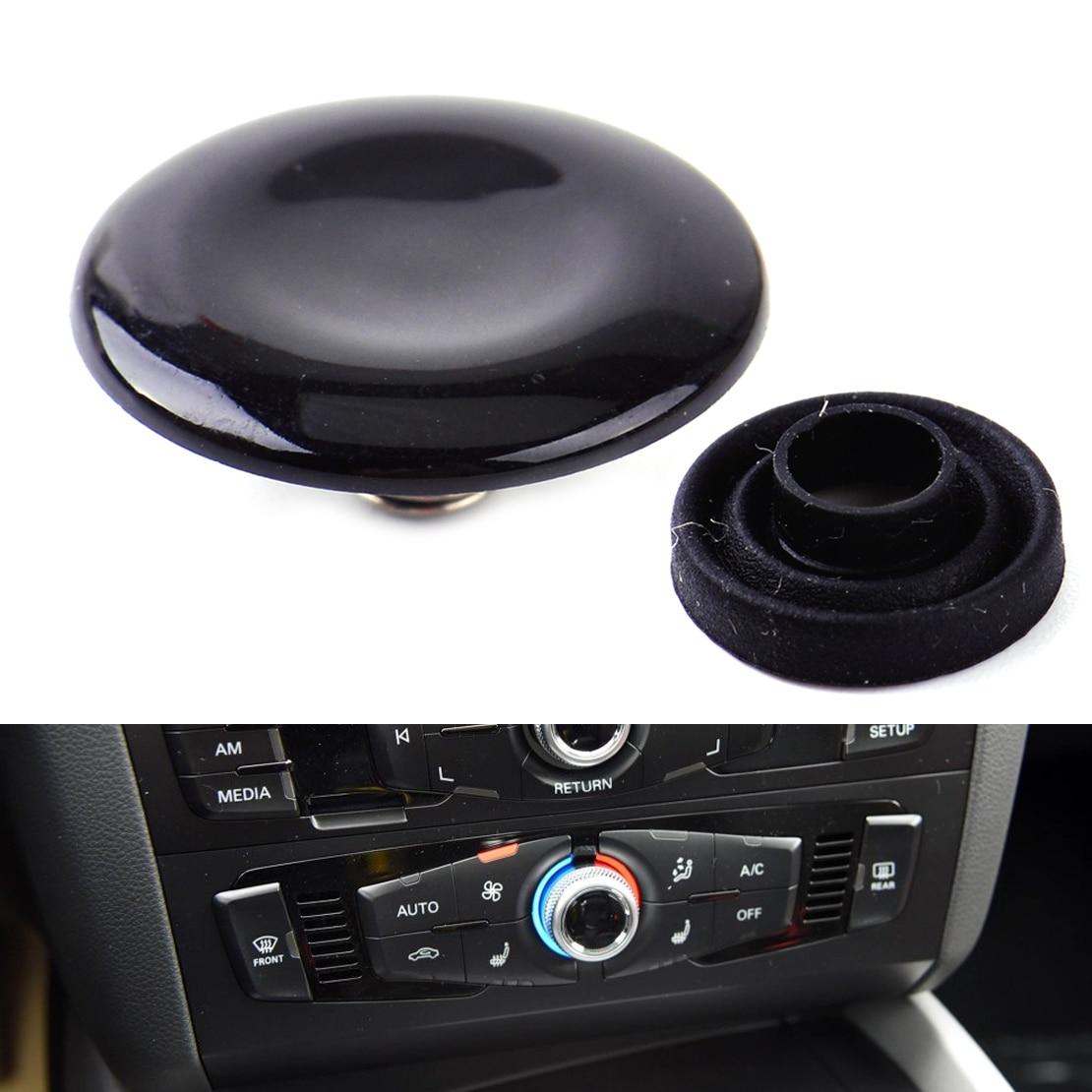 Carro Preto Brilhante Botão Botão Joystick Repair Kit 8K0998068A para Audi MMI A4 Q7 S4 10-2015 A5 12-2015 A6 08-11 Q5 13-15 S6 07-11