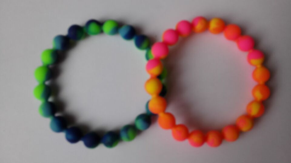 Popular Beaded Silicone Bracelet-Buy Cheap Beaded Silicone ...