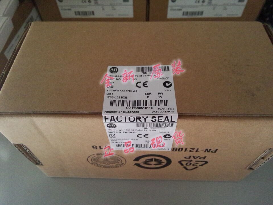 Brand new and Original Factory Seal Allen Bradley 1766-L32BXB 1766L32BXB MicroLogix 1400 PLC allen bradley 1734 aent 1734aent plc factory sealed in stock
