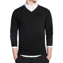 2016 New style fashion brand clothing long men pullover cashmere polo cheap mens sweaters sweater male