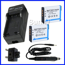 Аккумулятор (2-pack) + зарядное устройство для fujifilm finepix f750exr, F770EXR, F775EXR, F800EXR, F850EXR, F900EXR Цифровая Камера
