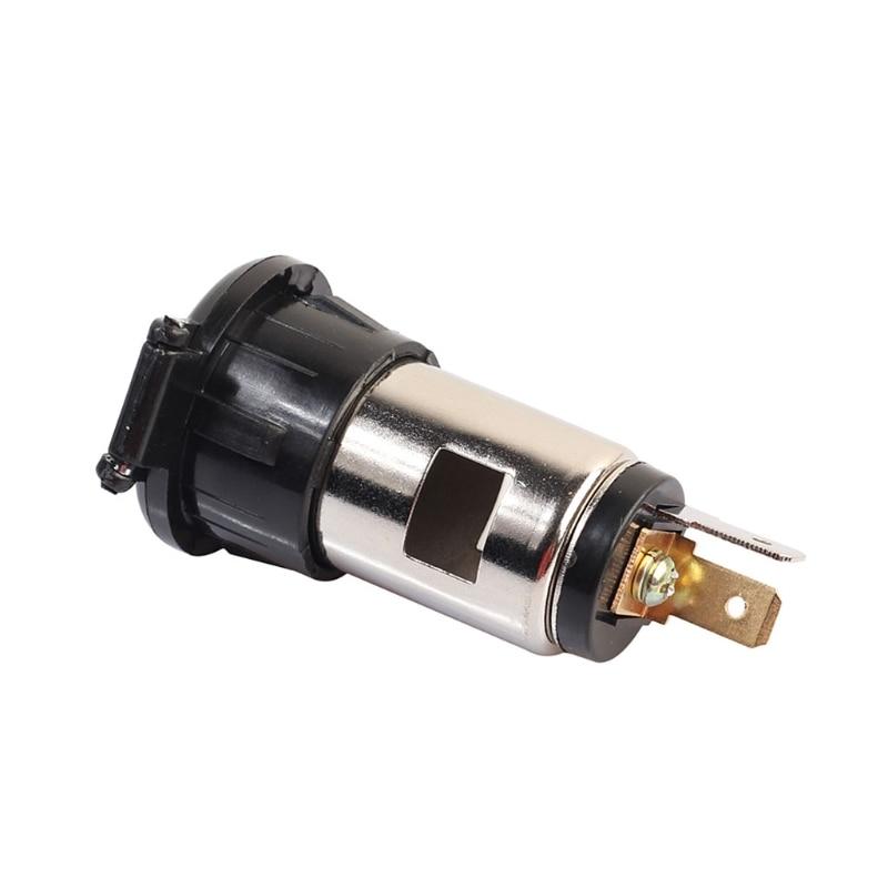 12V 120W Universal Car Boat Tractor Cigarette Lighter Power Socket Outlet Plug