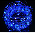 10M 33FT 100 LEDS 5V String Silver / Copper Wire LED Light with Great US Power adapter for Decorating Bedroom Party Garden