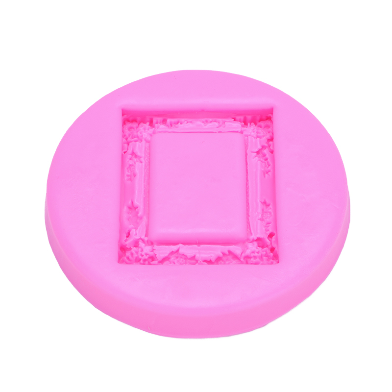 Retro Frame Shape Fondant cake silicone mould Kitchen for Gum paste Chocolate Trim molding removal tool set FT-0484