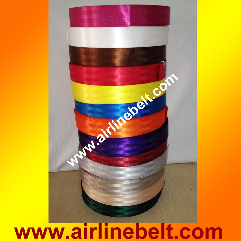 34 meter ROLL 48mm wide seat belt safety belt WEBBING red 24 colors available for two