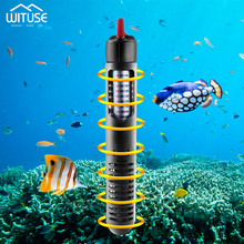 220v Aquarium Submersible Fish Tank Automatic Water Heater Eu Plug Constant Temperature Heating Rod With Protective Sleeve free shipping kde16ea3 kde19ea3 preheating plug glow plug heating rod heater plug warm up preheat heating heat suit for kipor