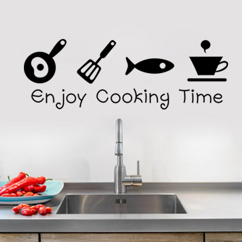 High Quality New Design Creative DIY Wall Stickers Kitchen Decal Home Decor Restaurant  Decoration 3D Wallpaper Wall Art ZY8300 Part 11