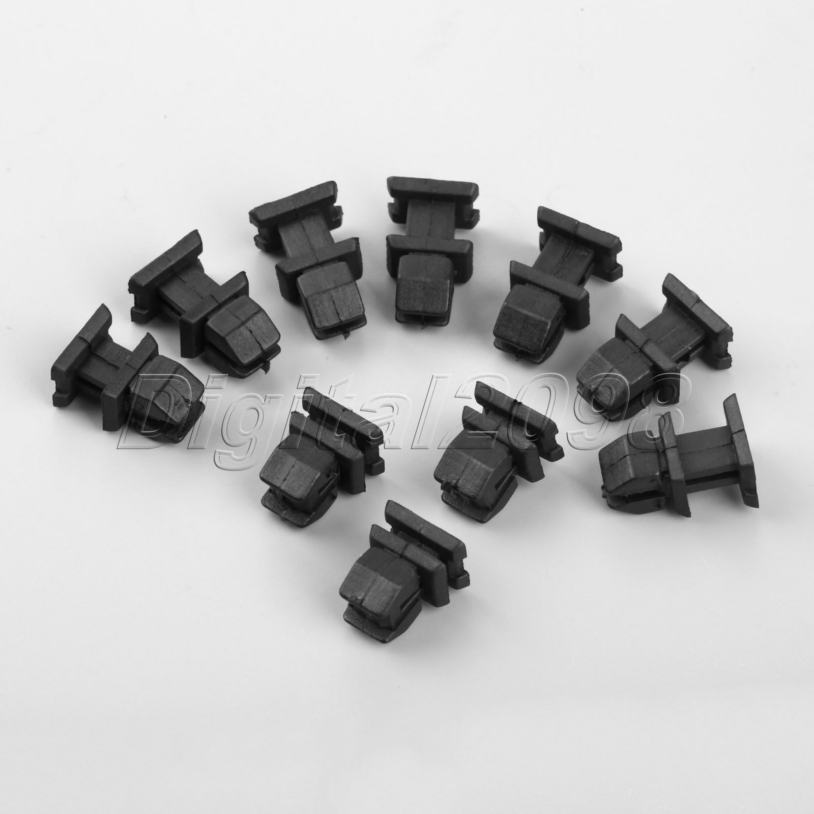 10x Auto Fasteners Boot Trim Clips Strip Cover For <font><b>Mercedes</b></font> <font><b>Benz</b></font> SLK CLK SL S W220 <font><b>W140</b></font> CLS CLASS Car Plastic Rivets Automobile image