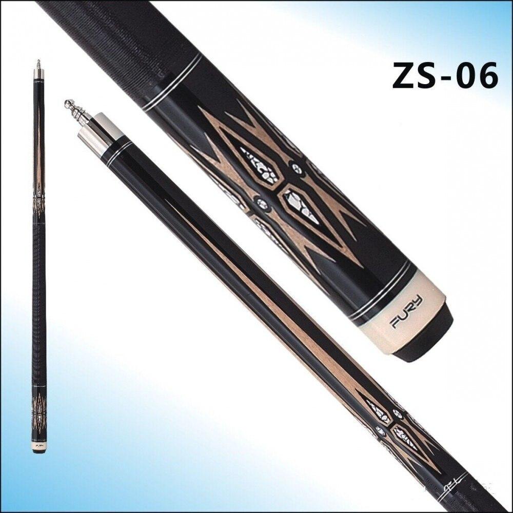 Pool cue FURY ZS Series billiards cue ZS-06/ 147 maple pool billiards /11.75mm Tiger tip 2017 poinos break pool cue punch