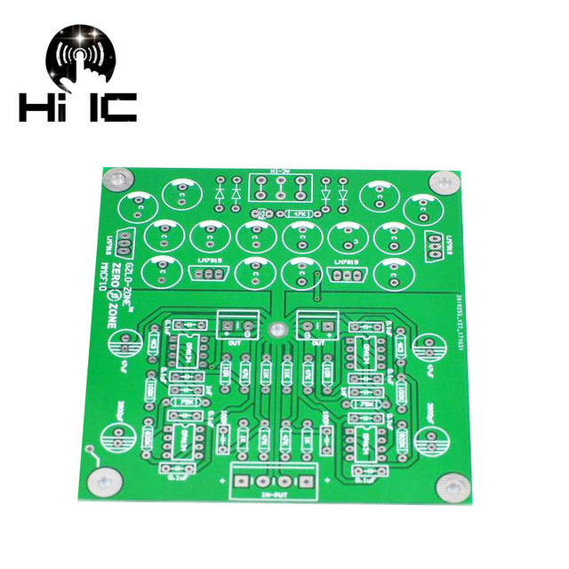 MMCF10 HIFI LP phonograph MM amplifier RIAA Phono preamplifier PCB