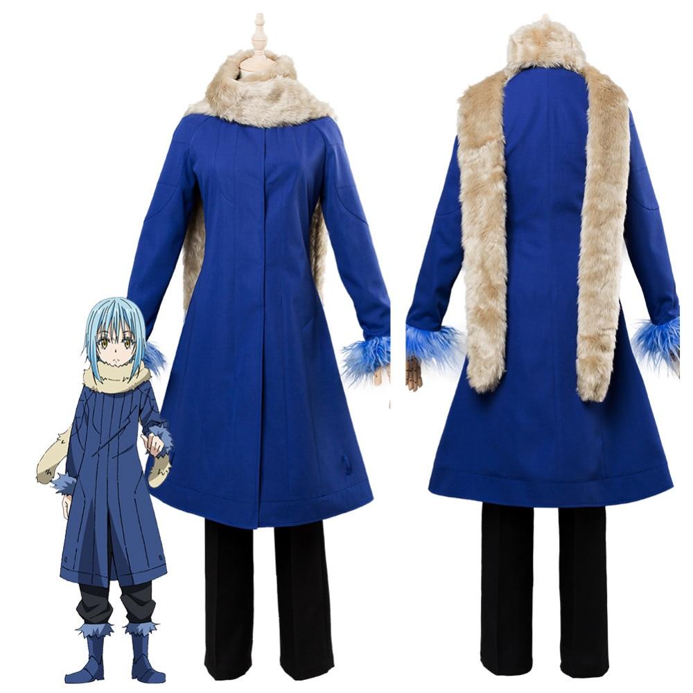 Matter Was Slime After Reincarnation Rimuru Tempest Cosplay Costume Custom Made