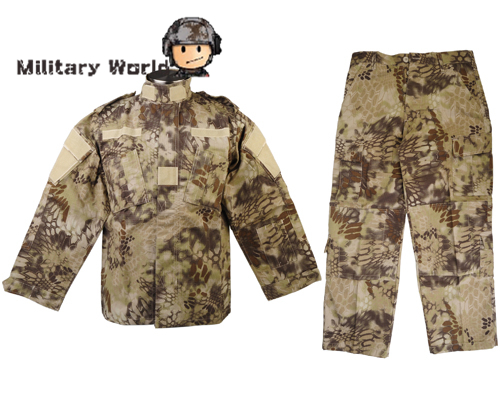 ФОТО Military Special Force Combat V2 Uniform Shirt & Pants HLD Camo Hunting Ghillie Suits Airsoft Paintball Hunting Sports Clothing
