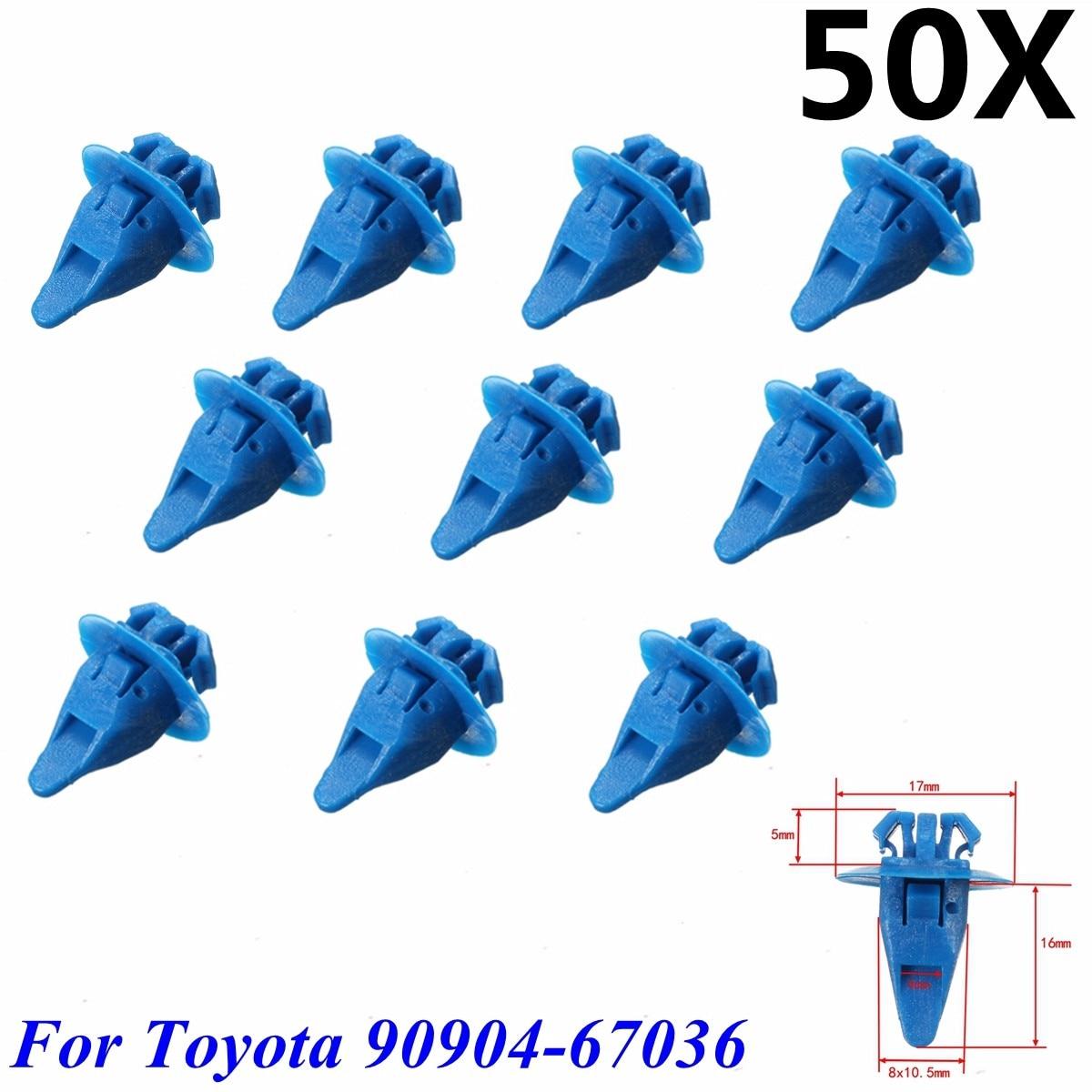 15 Rocker Panel Retainer Push Type Clip Rivet For Toyota 4-Runner 90467-06133-CO