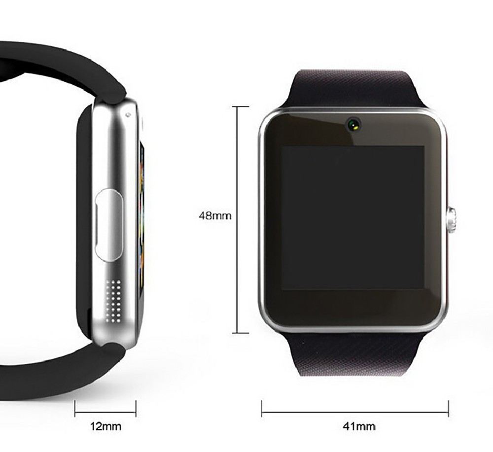 Eyouton Smart Watch GT08 WristWatch Bluetooth Sport Pedometer With SIM Slot Camera Smartwatch For Android Smartphone PK U8 DZ09
