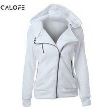 CALOFE 2019 Autumn Winter Jacket Women Coat Casual Girls Basic Jackets Zipper Cardigan Sleeveless Jacket Female Coats Plus Size цена и фото