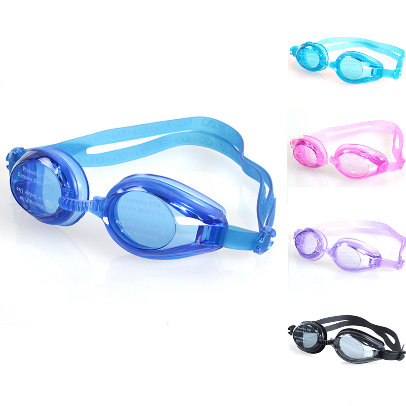 Children Swimming glasses Anti-Fog UV kids Sports swim eyewear Silicone Adjustable Elastic Bandage Waterproof Swimming goggles