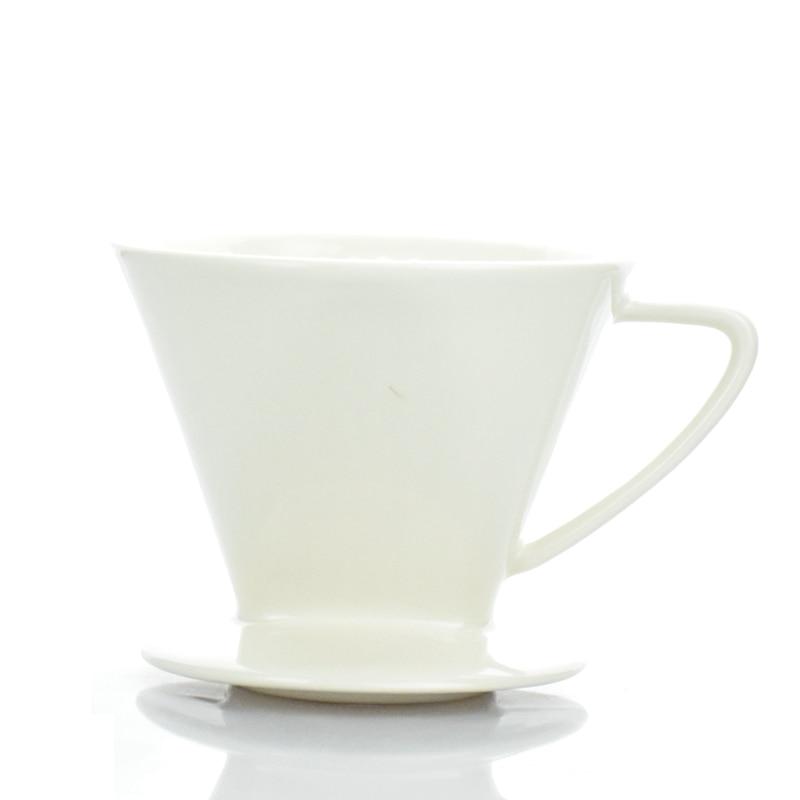 1PC Penghantaran Percuma Espresso V60 Coffee Dripper Seramik V60 - Dapur, makan dan bar - Foto 4