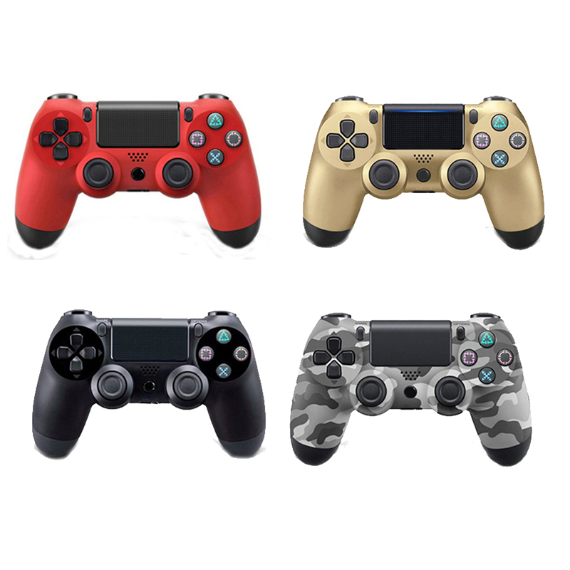 For PS4 PC Wireless Bluetooth Gamepad Remote Controller