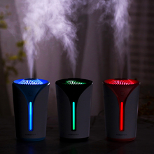 USB Aroma Humidifier Diffuser with LED Night Lights 170ML Mini Ultrasonic Air Mist Purifier Atomizer
