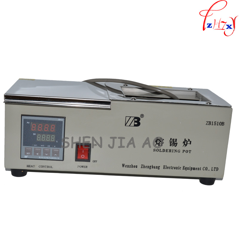 1PC Solder Pot ZB1510B/D Digital Display 600W 150* 100* 70mm Soak Soldering Machine Soldering Tin Stove1PC Solder Pot ZB1510B/D Digital Display 600W 150* 100* 70mm Soak Soldering Machine Soldering Tin Stove