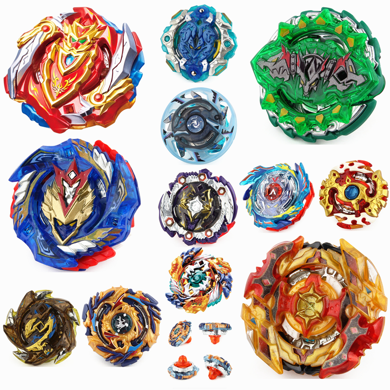 Top Launchers Beyblade Burst Toys B-122 B-73 B-100 bables Toupie Bayblade burst Metal God Spinning Tops Bey Blade Blades Toy turbine