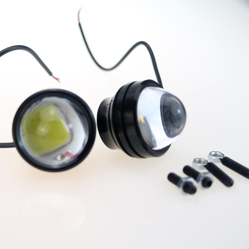 LVTUSI 2PCS Super Bright Daytime Running Light LED Cahaya Eagle Eye - Lampu kereta - Foto 4
