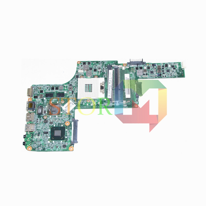 NOKOTION for toshiba satellite L730 L735 laptop motherboard DABU5DMB8E0 REV E A000095040 HM65 DDR3 GeForce GT315M блузон с капюшоном с рисунком спереди 3 12 лет