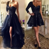 Detachable Evening Dresses with Removable Skirt Prom Dress Formal Evening Gown Dress Wear Cheap Women Party On Sale abendkleider