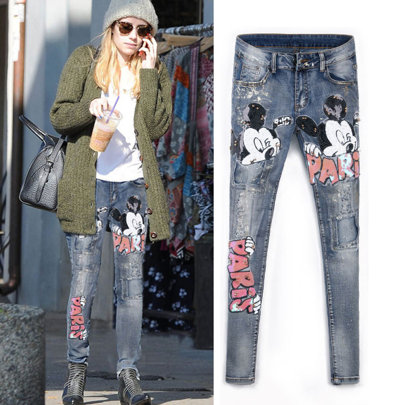 Online Get Cheap Mujeres Bling Jeans -Aliexpress.com | Alibaba Group